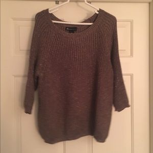 Brown Shimmery Sweater